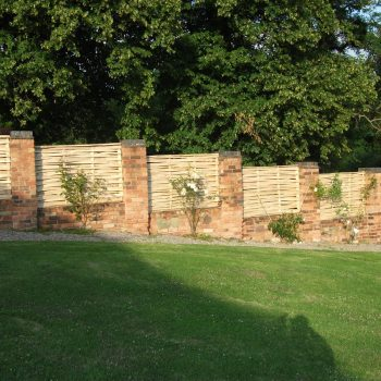 Chestnut lath panels